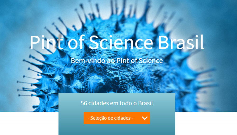 "FOP participa do ""Pint of Science"""